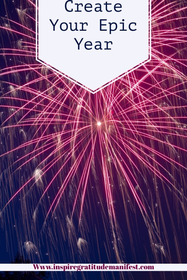 Create Your Epic Year, Fireworks