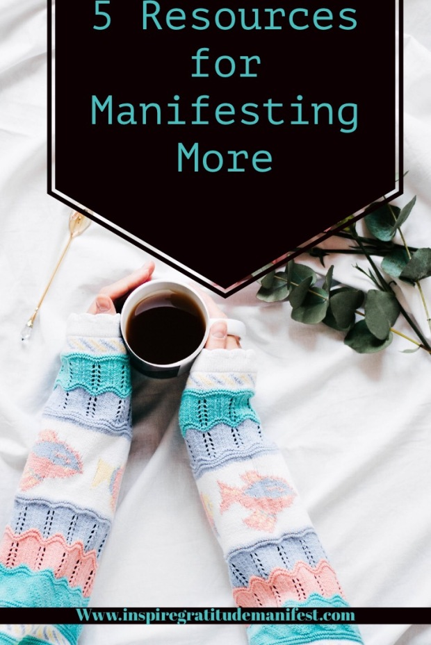 5 Resources for Manifesting More, Holding Cup of Coffee