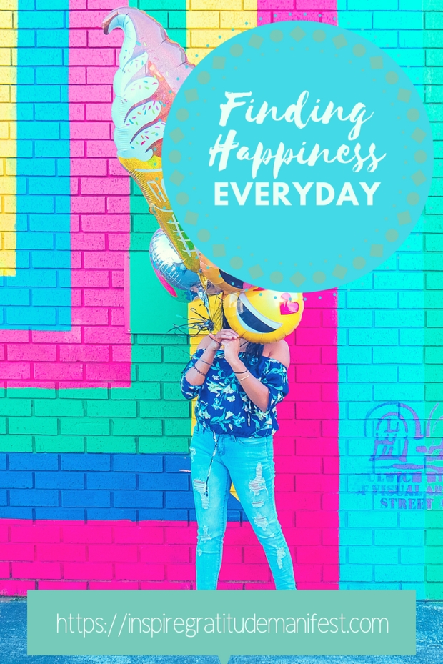 Finding Happiness Everyday, The Art of Being Happy, #happy #happiness #lifestyle #positive #bright #colourful #inspiremanifestgratitude