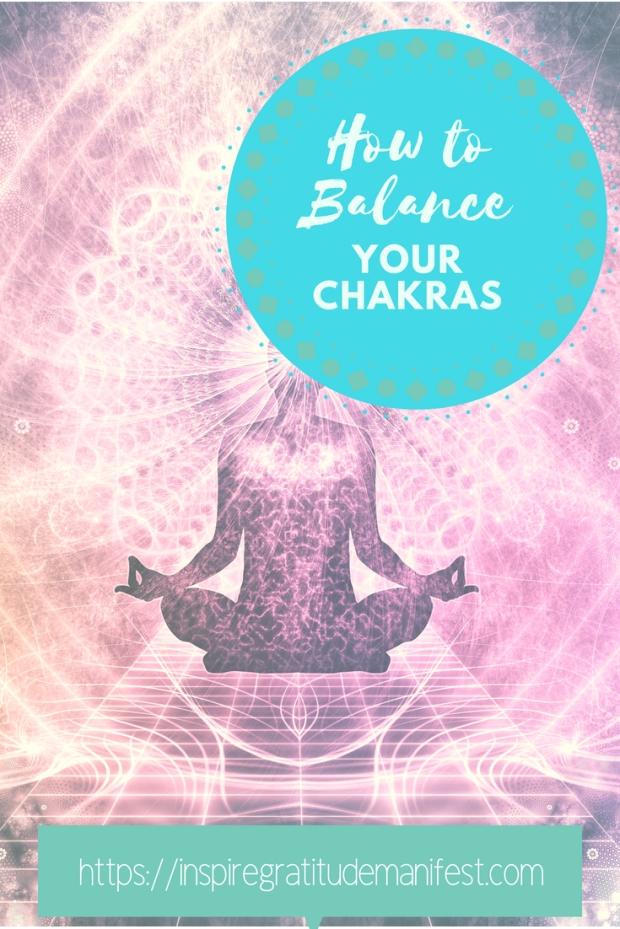 How to Balance your Chakras, #balance #chakra #spirituality #mindfulness