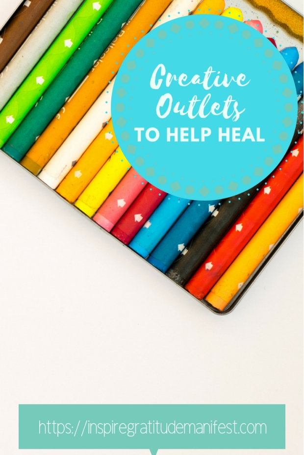Colours and Crayons, Why It's Important to have a creative outlet, creative outlets to help heal you #creative